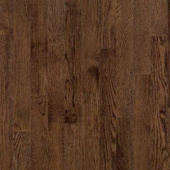 White Oak Solid Bruce Flooring 2-1/4 Mocha