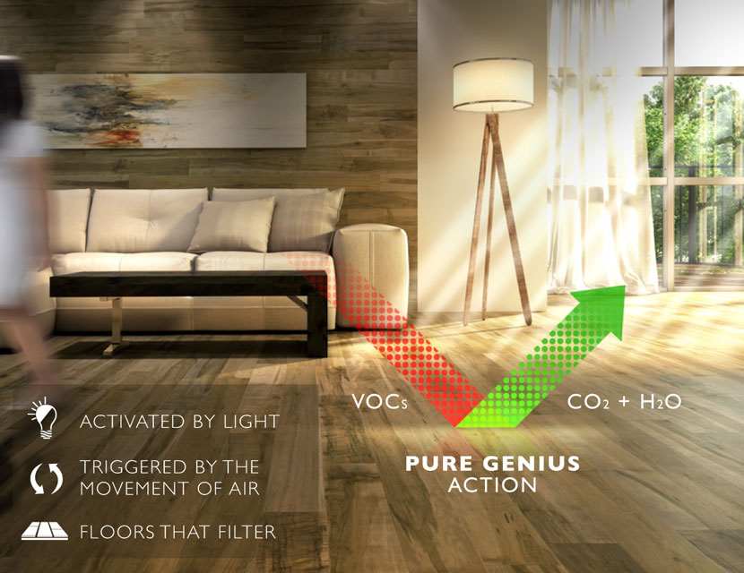 Lauzon Flooring and Pure Genius for Improved Indoor Air Quality