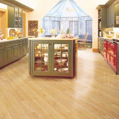 Red Oak Solid Mullican Flooring 2-1/4 Natural