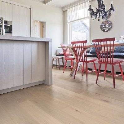 "Oak Solidfloor Flooring 7-1/2"" Runner Calista White"