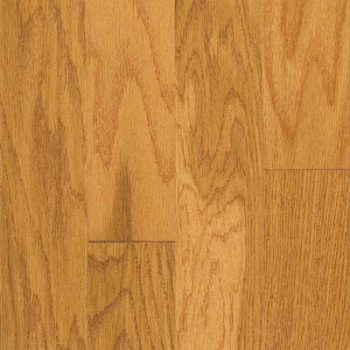 "Oak Engineered MeadowView Flooring 3"" Gunstock"