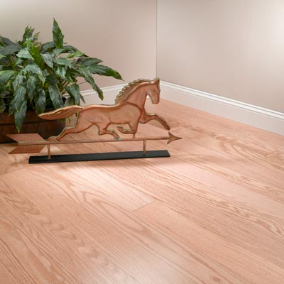 "Red Oak Engineered MeadowView Flooring 5"" Natural"