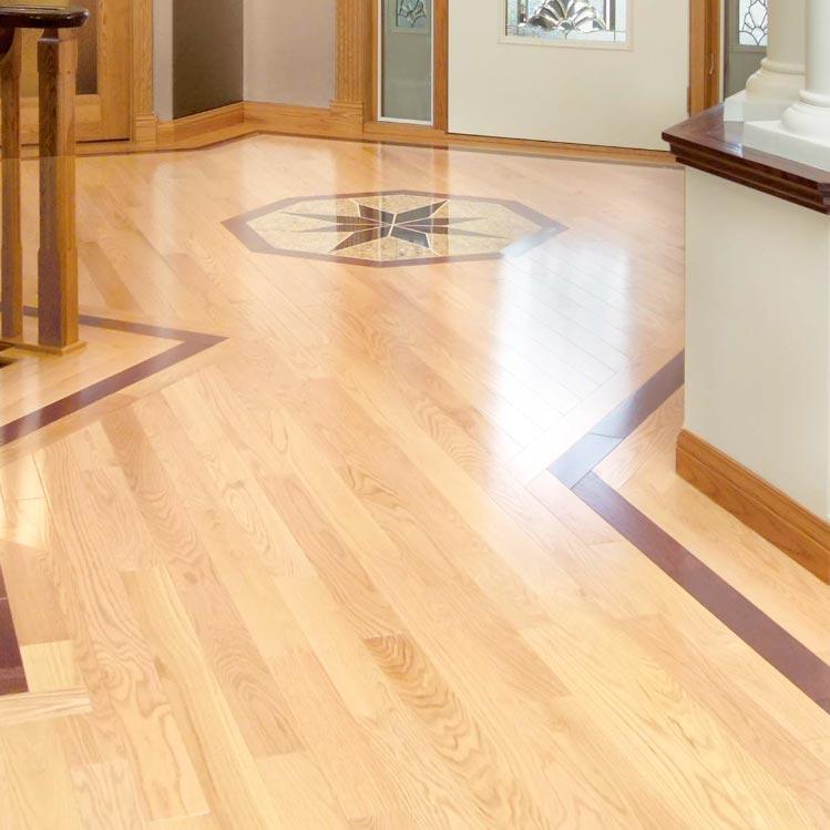 Red Oak Flooring Characteristics: Red Oak Solid Mirage 3-1/4 Natural Matte Select