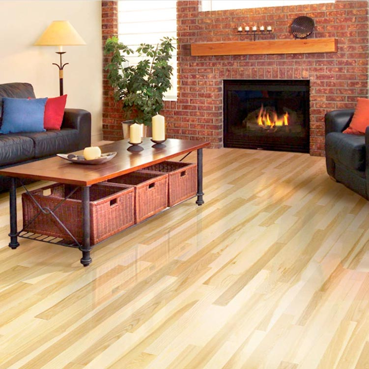 White Ash Solid Mirage Flooring 3-1/4 Natural Matte