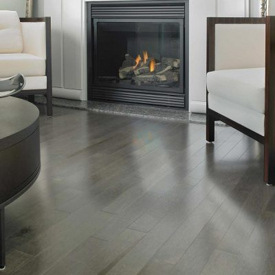 """Maple Solid Mirage 3-1/4"""" Charcoal"""