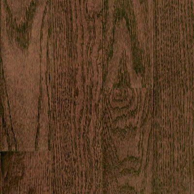 "Oak Solid Mullican Flooring 3"" Dark Chocolate"
