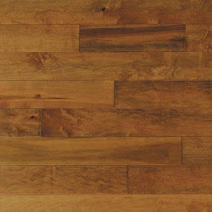 Maple Solid Mirage Flooring 3-1/4 Toffee Matte