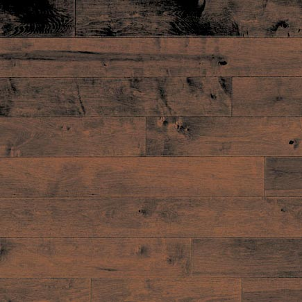 Maple Solid Mirage Flooring 3-1/4 Truffle Matte