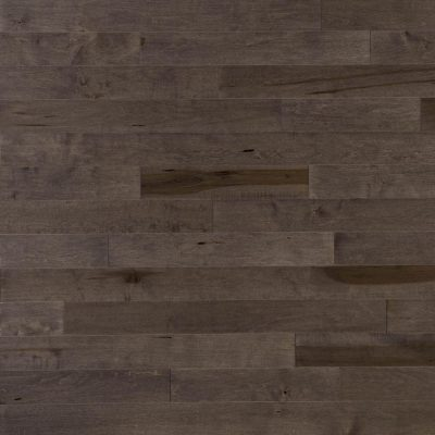 """Maple Solid Mirage 2-1/2"""" Charcoal"""