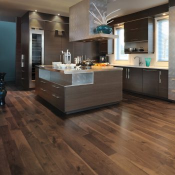 "Knotty Walnut Engineered Mirage 5"" Savanna"