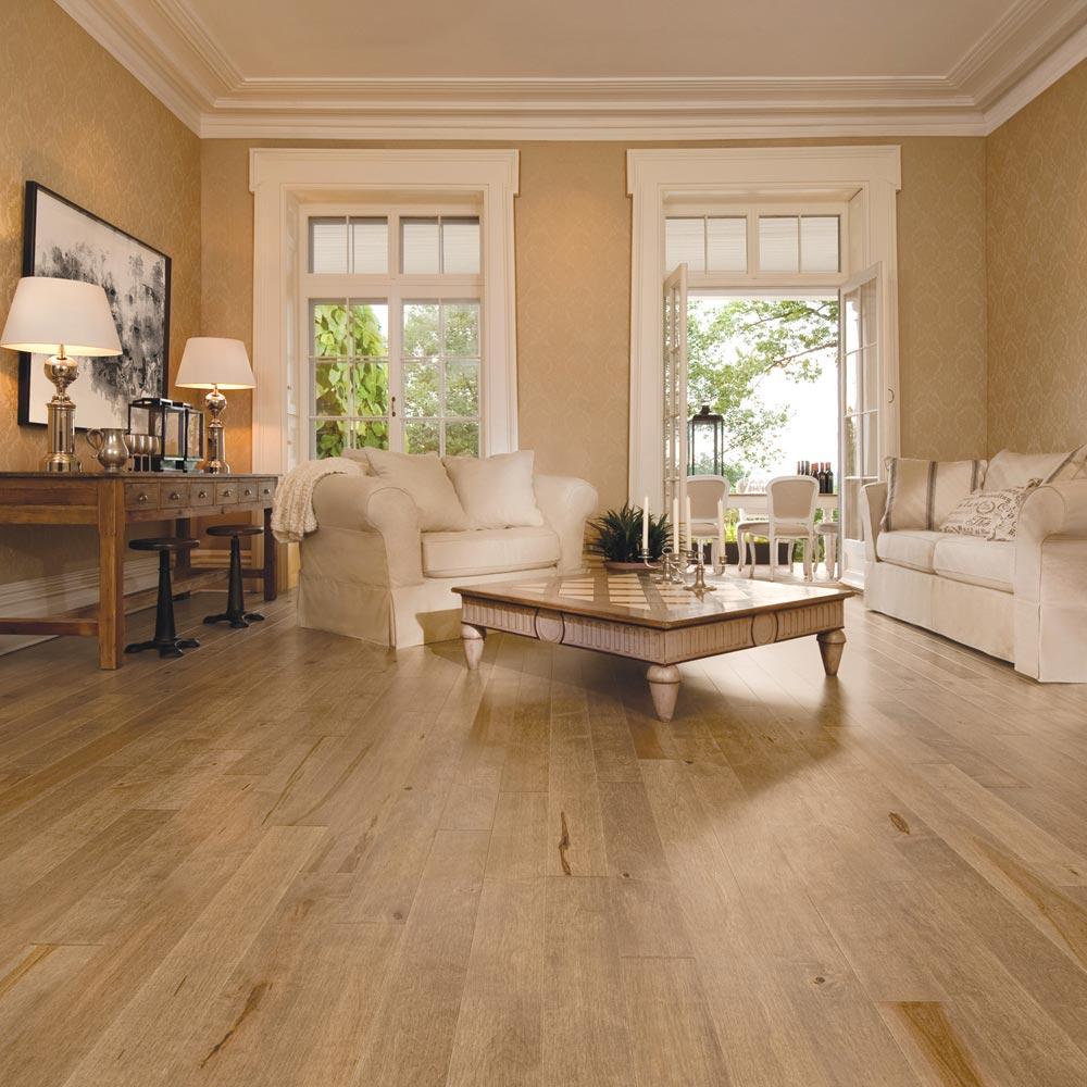 Hardwood Flooring Nj: Aged Maple Solid Mirage 4-1/4 Nougat