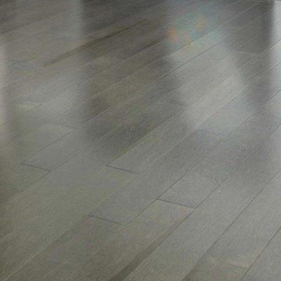 """Maple Mirage Herringbone 2-9/16"""" Charcoal"""
