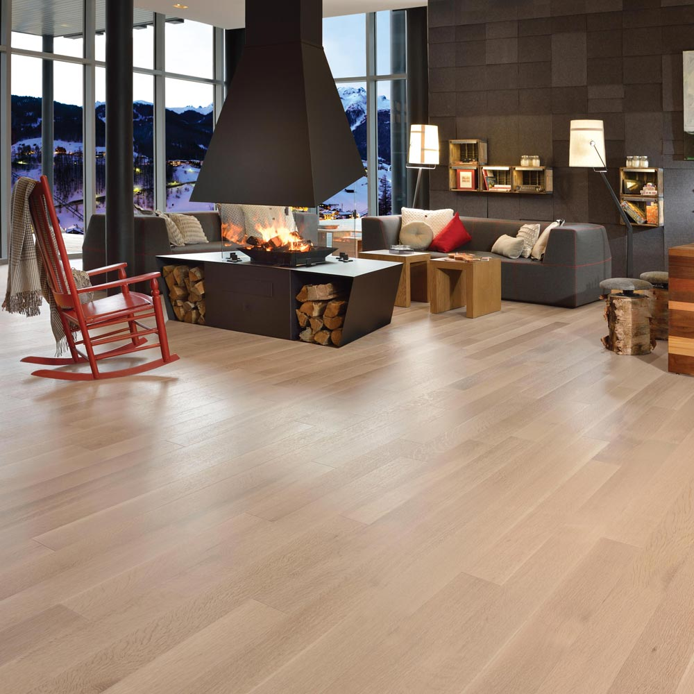 White Oak Engineered Mirage Cashmere 6-1/2 Isla R&Q