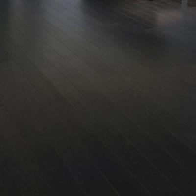 "Maple Mirage Herringbone 5"" Graphite"