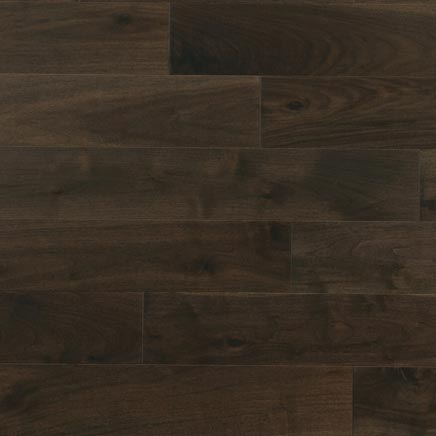 "Kn0tty Walnut Herringbone 5"" Charcoal 25-1/2"""