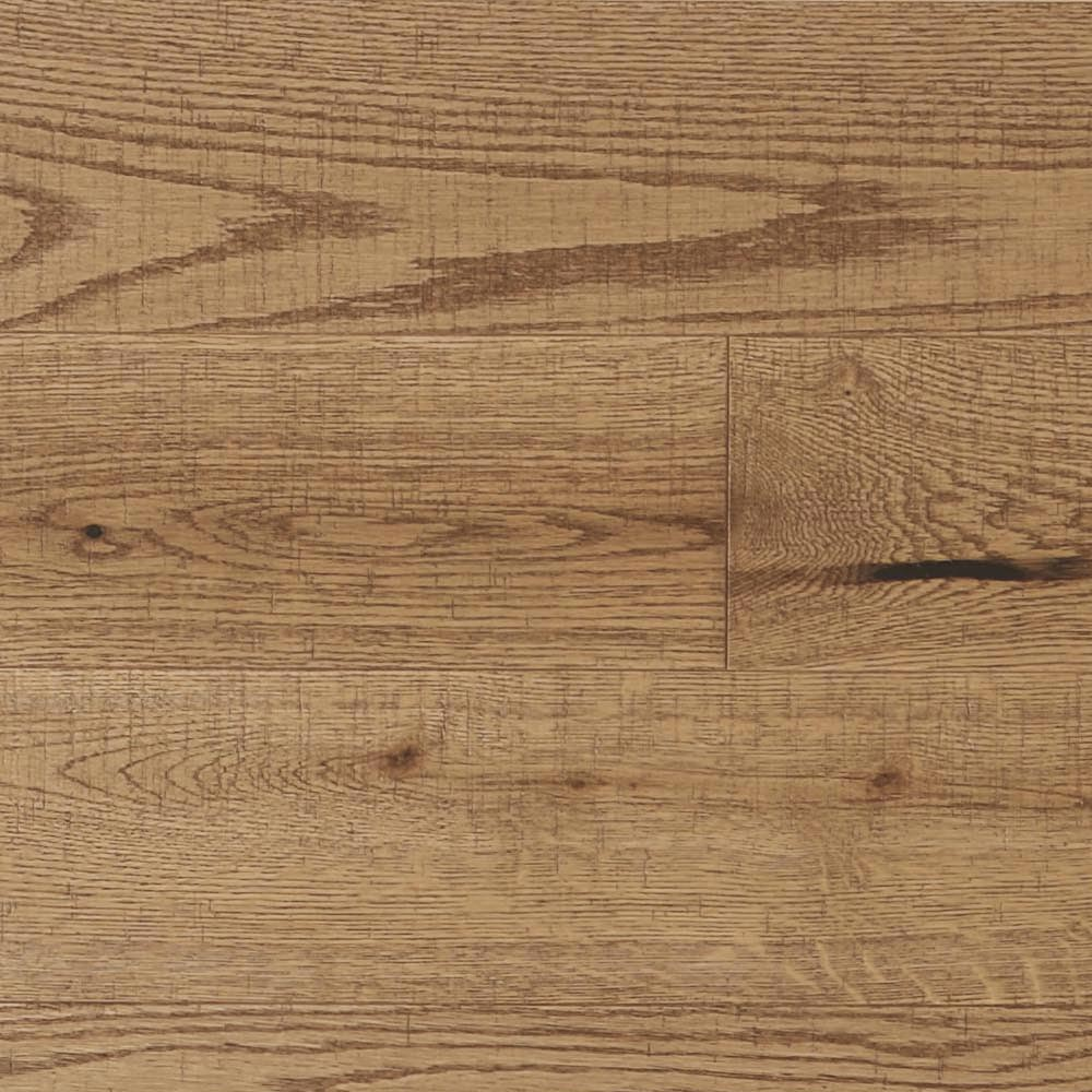 "Old Red Oak Solid Mirage 3-1/4"" Textured Papyrus"