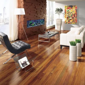Andiroba Solid Lauzon Flooring 3-1/4 Natural Semi-Gloss