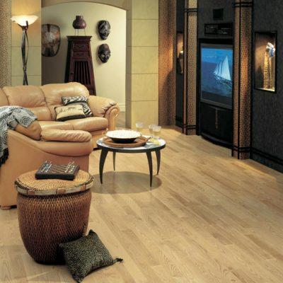 Ash Solid Lauzon Flooring 2-1/4 Natural Semi-Gloss