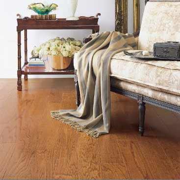 Red Oak Engineered Bruce Flooring 5 Gunstock