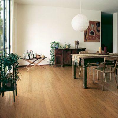 Bamboo EcoTimber Solid Traditional - Amber Horizontal