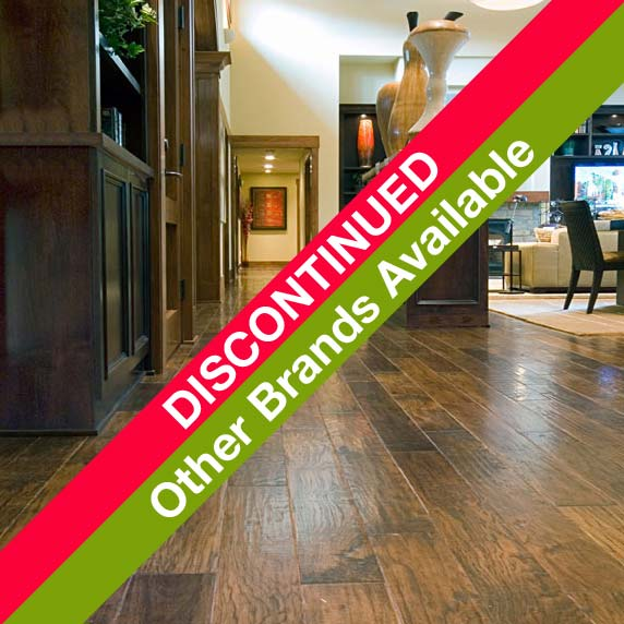 Pecan EcoTimber Engineered Fire Fly - Hand-scraped