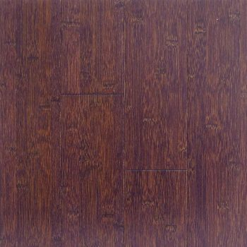 Stained Brown Black Horizontal Hawa Bamboo Flooring