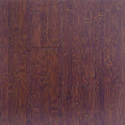Stained Brown Black Horizontal Hawa Bamboo Flooring