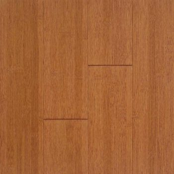 Stained Burgundy Horizontal Hawa Bamboo Flooring