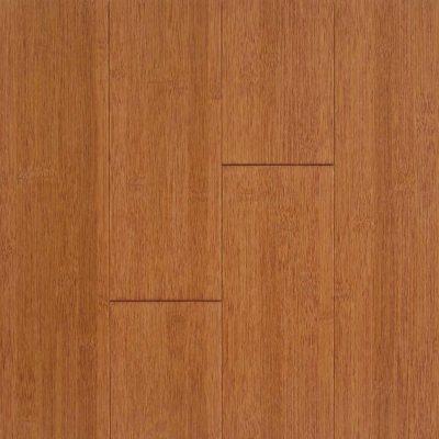 Stained Burgundy Horizontal Hawa Bamboo Flooring