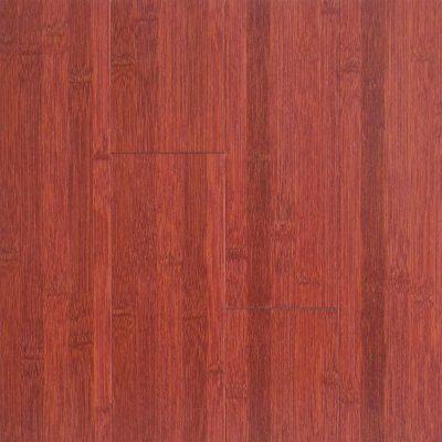 Stained Cherry Horizontal Hawa Bamboo Flooring