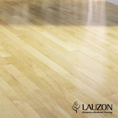 Maple Solid Lauzon Flooring 2-1/4 Natural Perl S&B