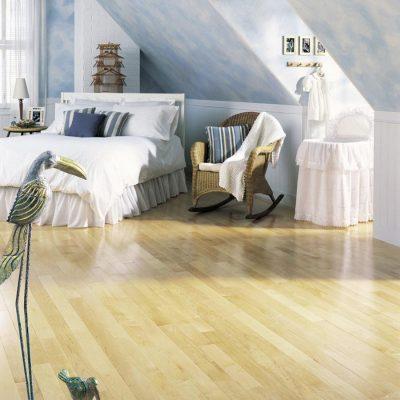 Maple Solid Lauzon Flooring 2-1/4 Natural Semi-Gloss S&B