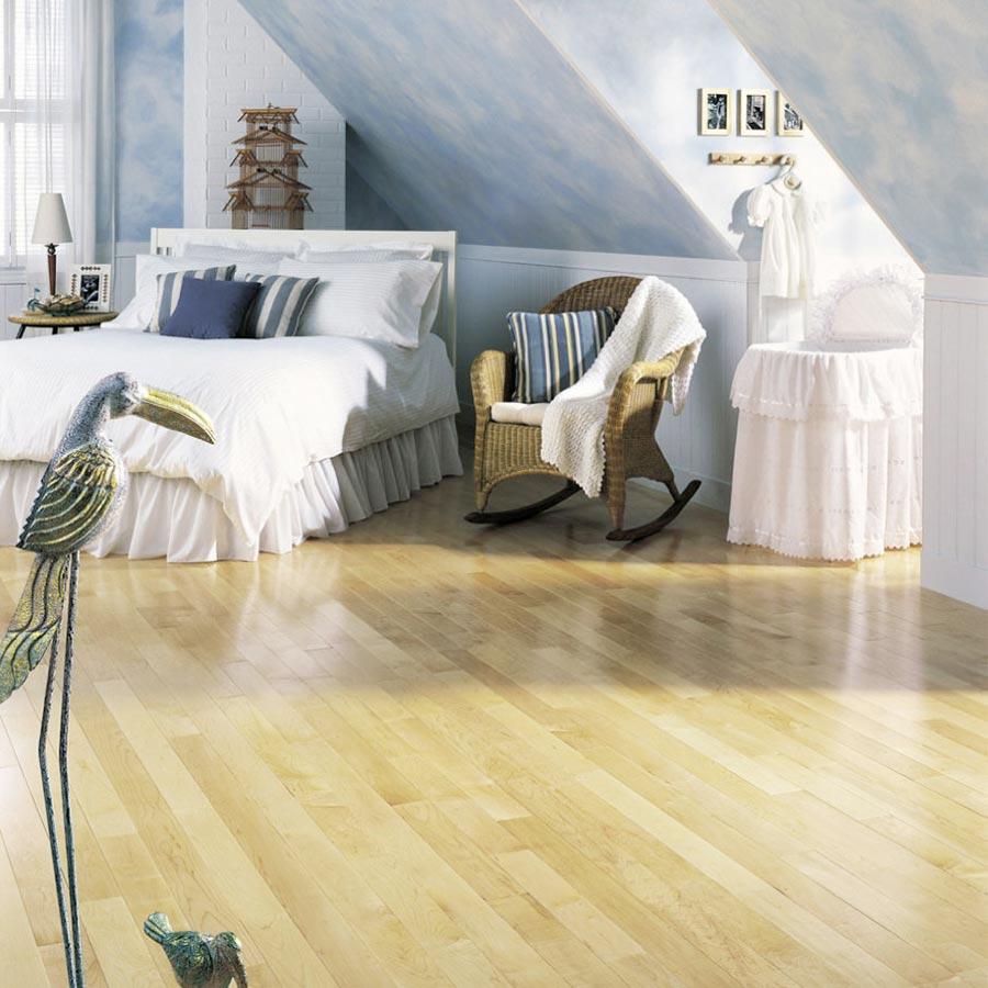Maple Solid Lauzon Flooring 3 1 4 Natural Semi Gloss S B Custom