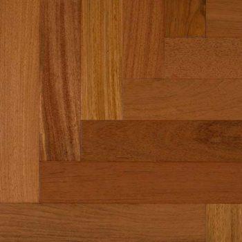 "Brazilian Cherry Herringbone Solid IndusParquet Flooring 3-1/8"""