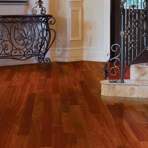 Santos Mahogany Solid Indusparquet Flooring 7 34 Custom Wood