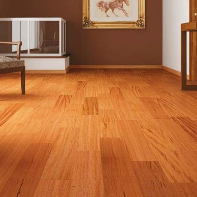 "Tigerwood Solid IndusParquet Flooring 5-1/2"""