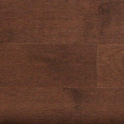 Hard Maple Solid Mercier Flooring 3-1/4 Chocolate Brown