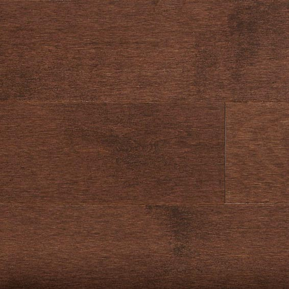 Hard Maple Solid Mercier Flooring 3-1/4 Chocolate Brown