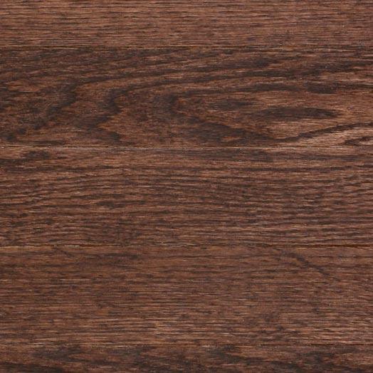 Red Oak Solid Mercier Flooring 3-1/4 Chocolate Brown