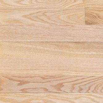 Red Oak Solid Mercier Flooring 3-1/4 Natural Selected