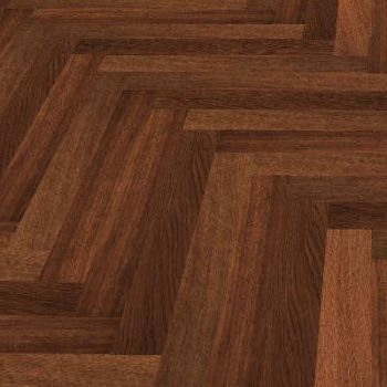 Terra Legno Engineered Flooring Dark Walnut Herringbone