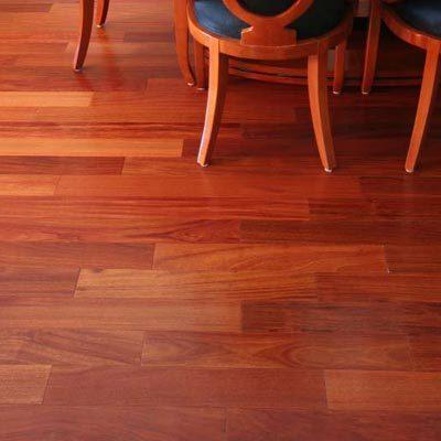 "Santos Mahogany Terra Legno Engineered Flooring 3-1/2"""