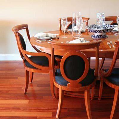 "Santos Mahogany Terra Legno Engineered Flooring 5"""
