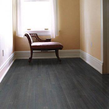Flat Grain Teragren Bamboo Flooring Charcoal
