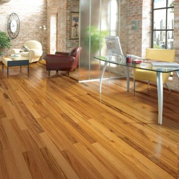 Tigerwood Solid Lauzon Flooring 3-1/4 Natural Semi-Gloss