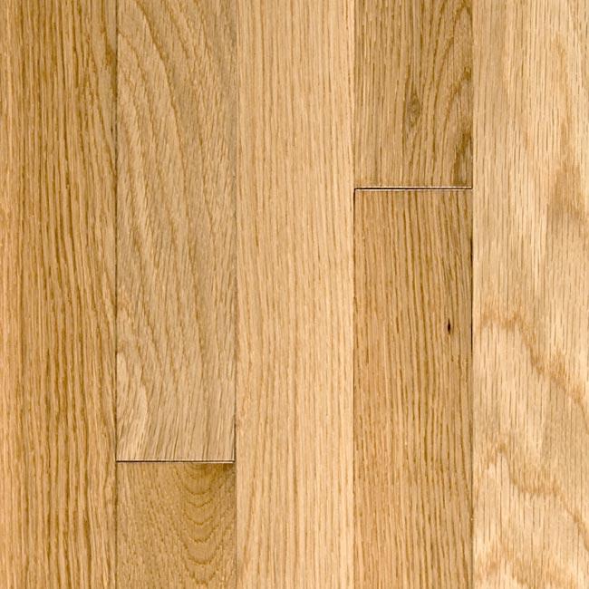 White Oak Solid Prefinished Flooring 2 1 4 Natural