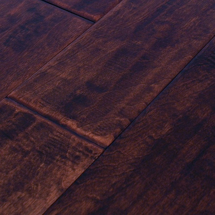 Maple Engineered Hand Scraped Flooring 5 Quot Molasses