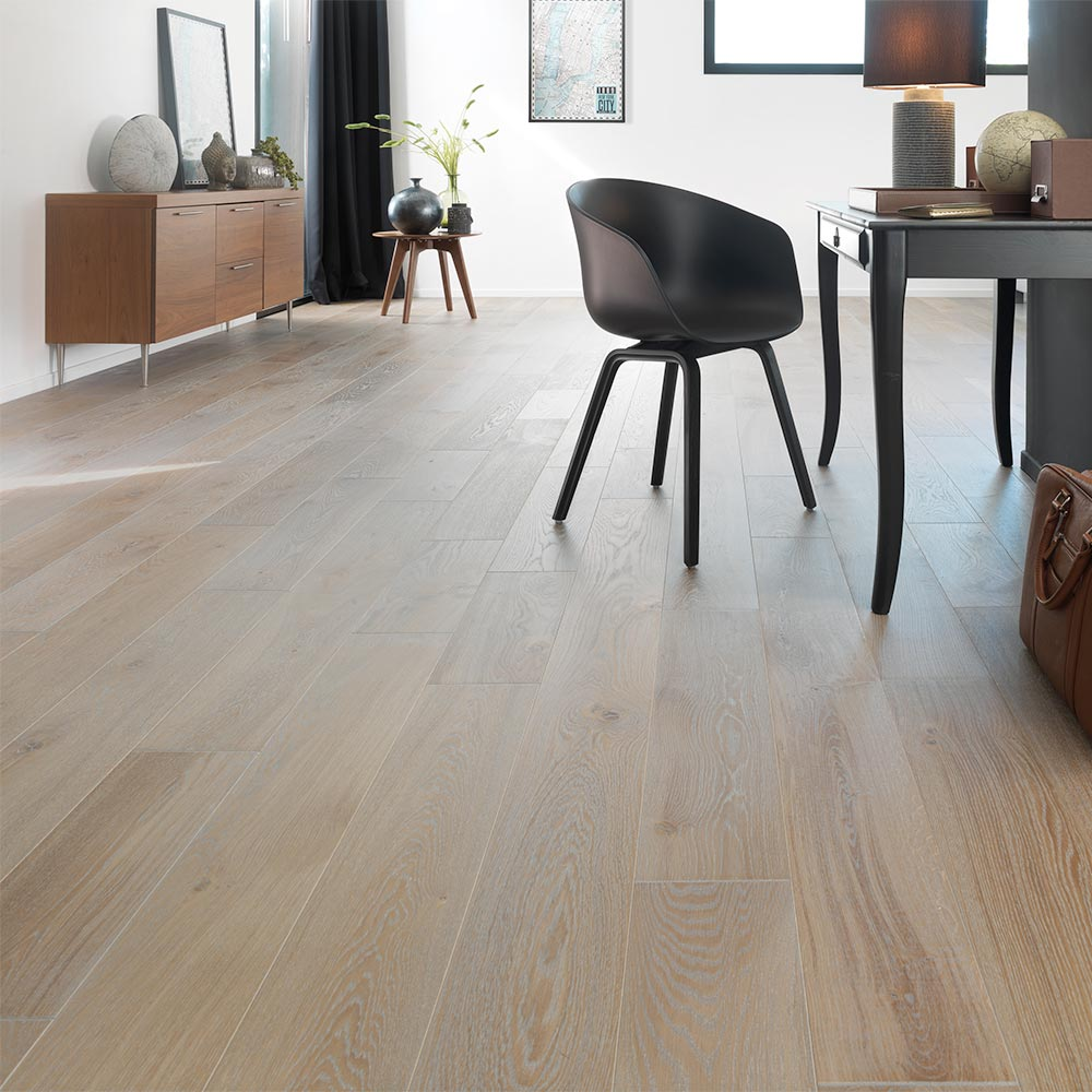 French White Oak Engineered Panaget Flooring 9 16