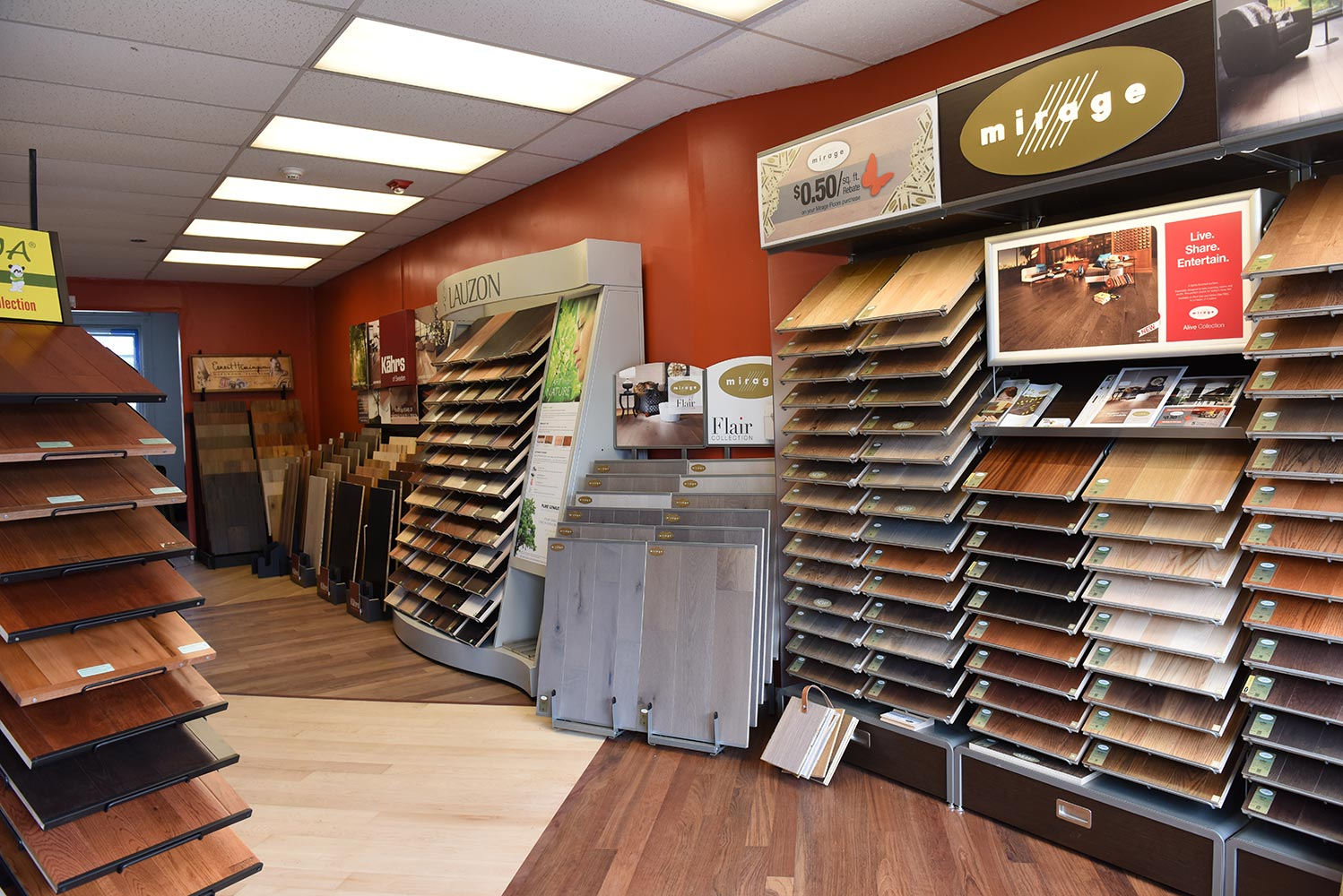 Wood Floor Planet Inc. Showroom at 425 W 46th St. New York, NY 10036 tel: 212-252-3838.